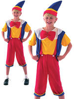 Boy's Budget Pinocchio Costume