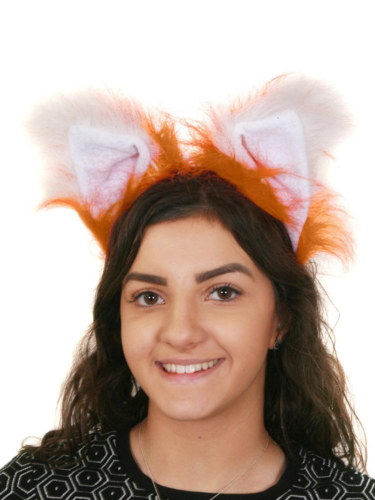 Fluffy Fox Ears on Headband