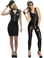 Ladies Fever SWAT / FBI Costume