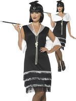 Ladies 1920s Flapper Costume