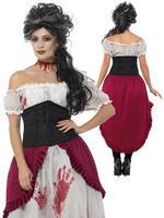 Ladies Victorian Slasher Victim Costume