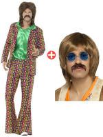 Men's 60s Psychedelic CND Suit & Kit