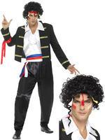 Men's 80s New Romantic Costume & Wig