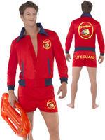 Men's Deluxe Baywatch Costume