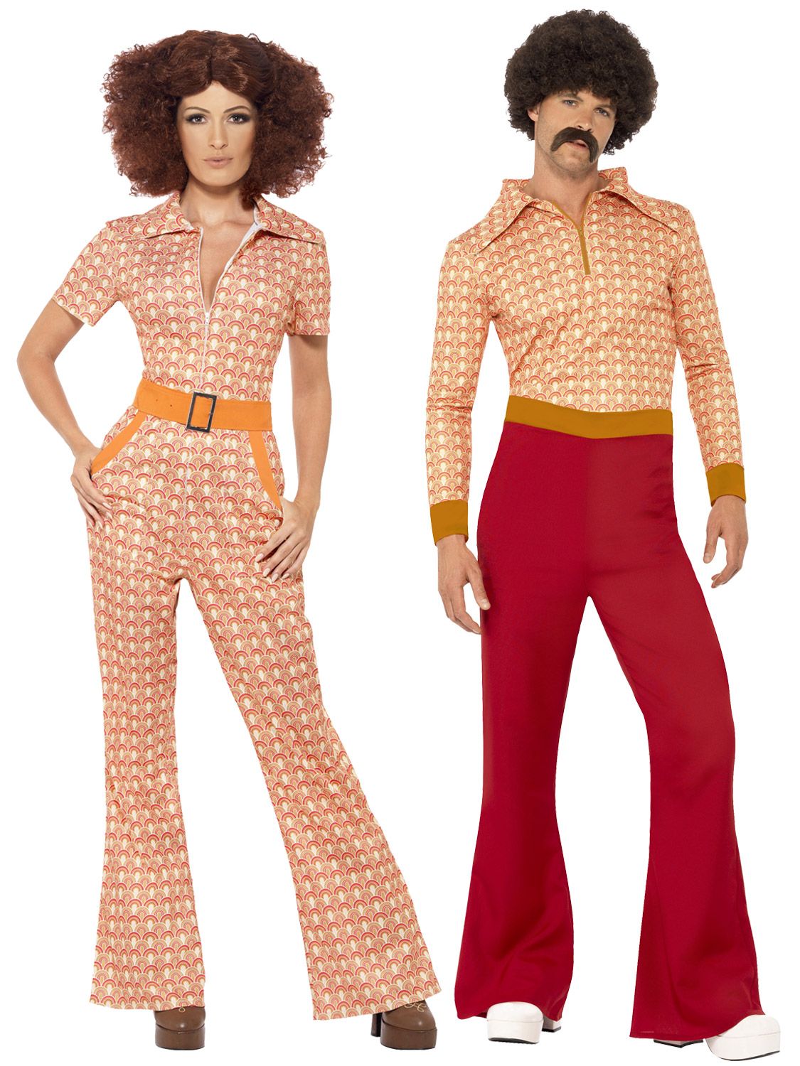 Adults 70s Authentic Chic Guy Costume Mens Ladies 1970s ...