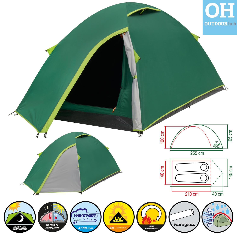 Coleman-Kobuk-Valley-Tent-2-3-4-Man-  sc 1 st  eBay & Coleman Kobuk Valley Tent 2 3 4 Man Person Dome Camping Holiday ...