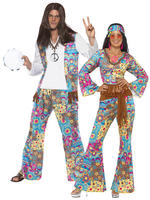 Adults Groovy Hippie Costume