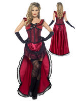 Ladies Authentic Brothel Babe Costume
