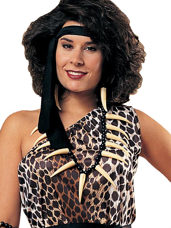 Caveman Costume Accessories : Caveman bone necklace costume accessory fancy dress