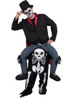 Adults Skeleton Piggy Back Costume