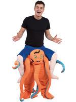 Adults Octopus Piggy Back Costume