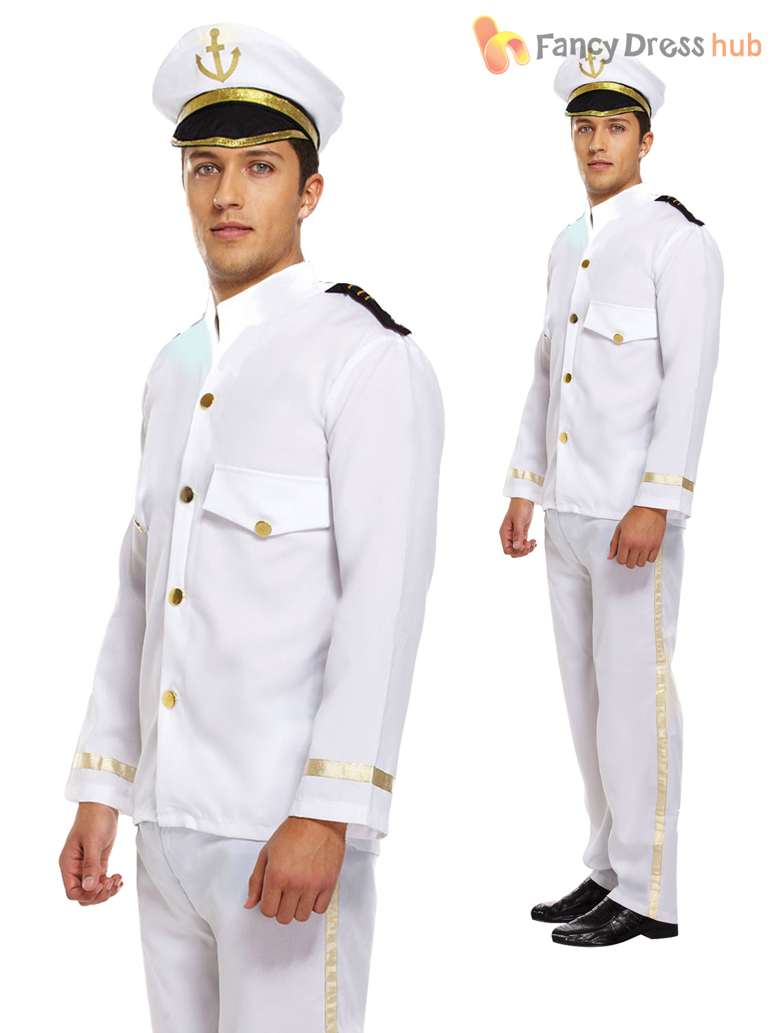 White Navy Uniform Shoes