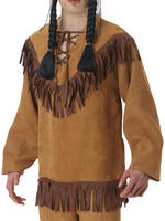 Adults Native American Fringe Shirt