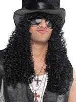 Men's 80s Headbanger Wig