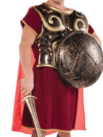 Adults Roman Warrior Chest Plate & Cape