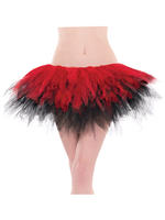 Ladies Black & Red Ballet Tutu