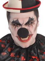 Men's Freakshow Clown Black Nose