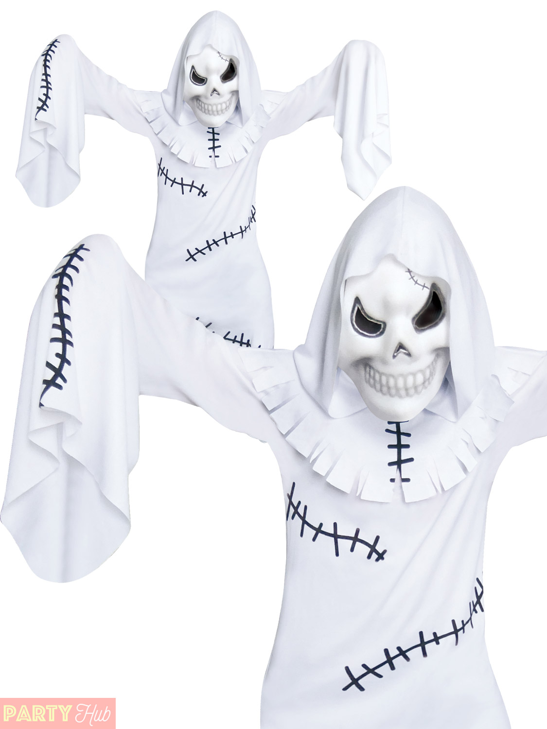 boys ghastly ghoul costume child scary ghost halloween