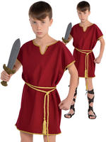 Boy's Burgundy Tunic Only