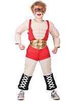 Boy's Wrestler Costume