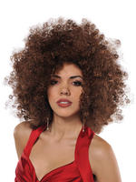 Adults 70s Runaway Afro Wig