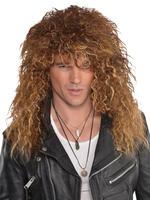 Men's 80s Glam Wig