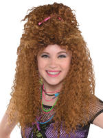Ladies 80s Crimp Wig