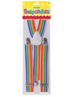 Adults Clown Rainbow Braces