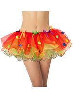 Adults Sassy Clown Tutu