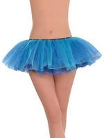Ladies Turquoise Shimmer Tutu