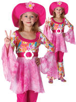Girl's Hippy Diva Costume
