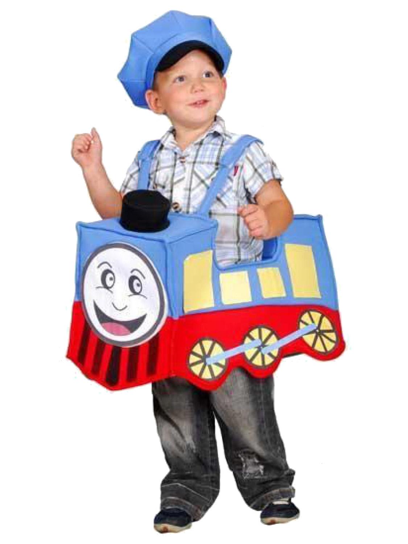 Boys Train Costume Childs Engine Thomas Fancy Dress Toddler Book ...