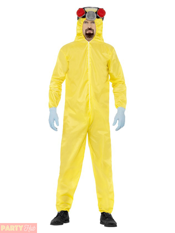 Mens Breakin... Breaking Bad Gas Mask Costume