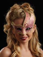 Pink & Gold Renata Eye Mask