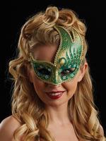 Gold & Green Renata Eye Mask