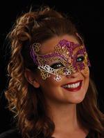 Pink, Gold & White Rosa Eye Mask