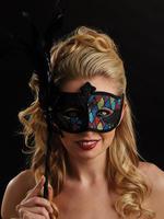 Green, Blue & Purple Vittoria Eye Mask