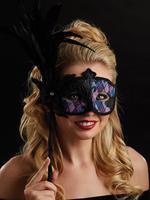 Pink, Purple & Blue Vittoria Eye Mask
