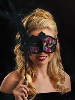 Multi-Coloured Vittoria Eye Mask