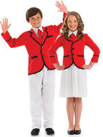 Childs Holiday Camp Helper Costume