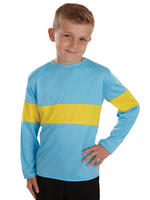 Childs Blue & Yellow Top Costume