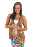 Ladies Hippie Waistcoat Costume