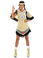 Ladies Indian Scout Costume