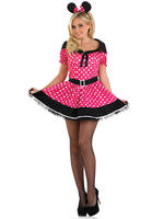 Ladies Pink Missie Mouse Costume