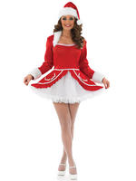 Ladies Santa Baby Costume