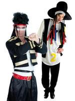 Men's 80s Singer Costume