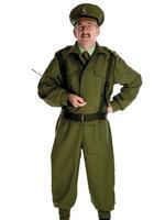 Men's British Homeguard Soldier Costume