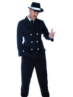 Men's Gangster Costume