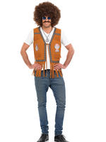 Men's Hippie Fringed Waistcoat