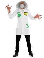 Men's Light up Radioactive Labcoat